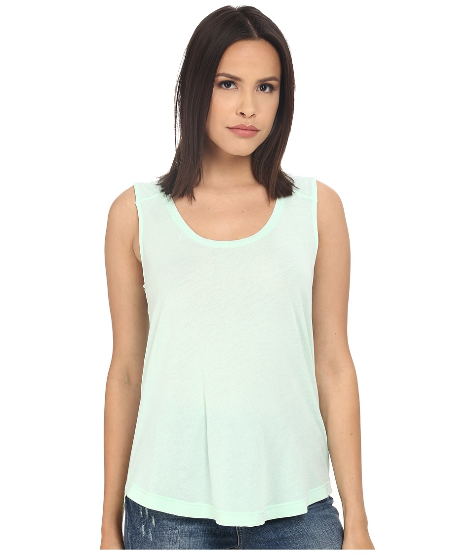 Splendid - Vintage Whisper Tank Top (Vintage Aqua Glass) Women's Sleeveless plus size,  plus size fashion plus size appare