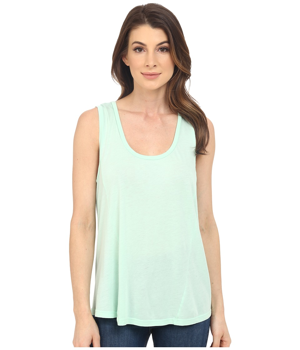 Splendid - Very Light Jersey Tank Top (Aqua Glass) Women's Sleeveless