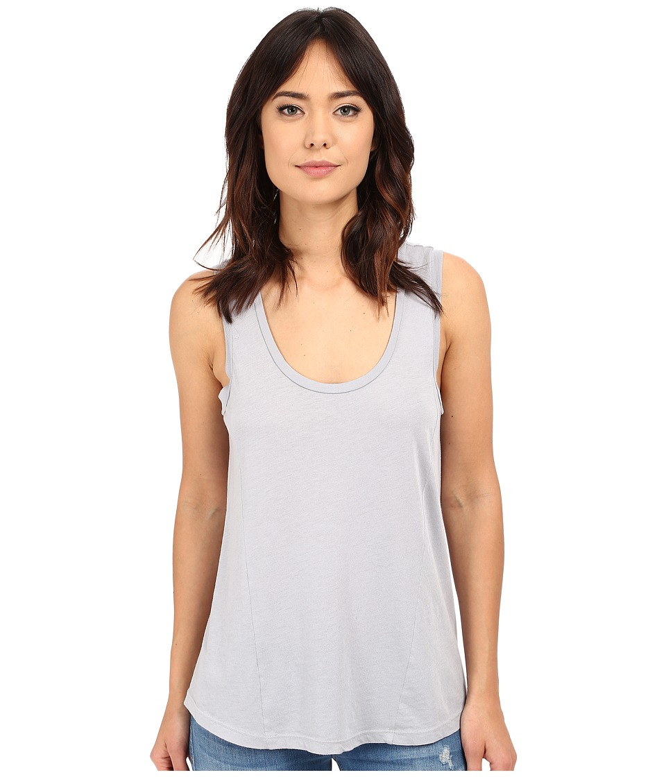 Splendid - Very Light Jersey Tank Top (Dove Grey) Women's Sleeveless