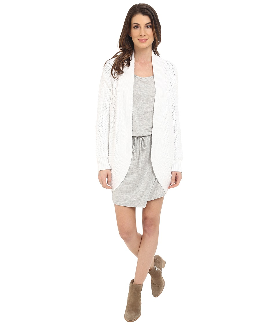Splendid - Temescal Cardigan (White) Women's Sweater