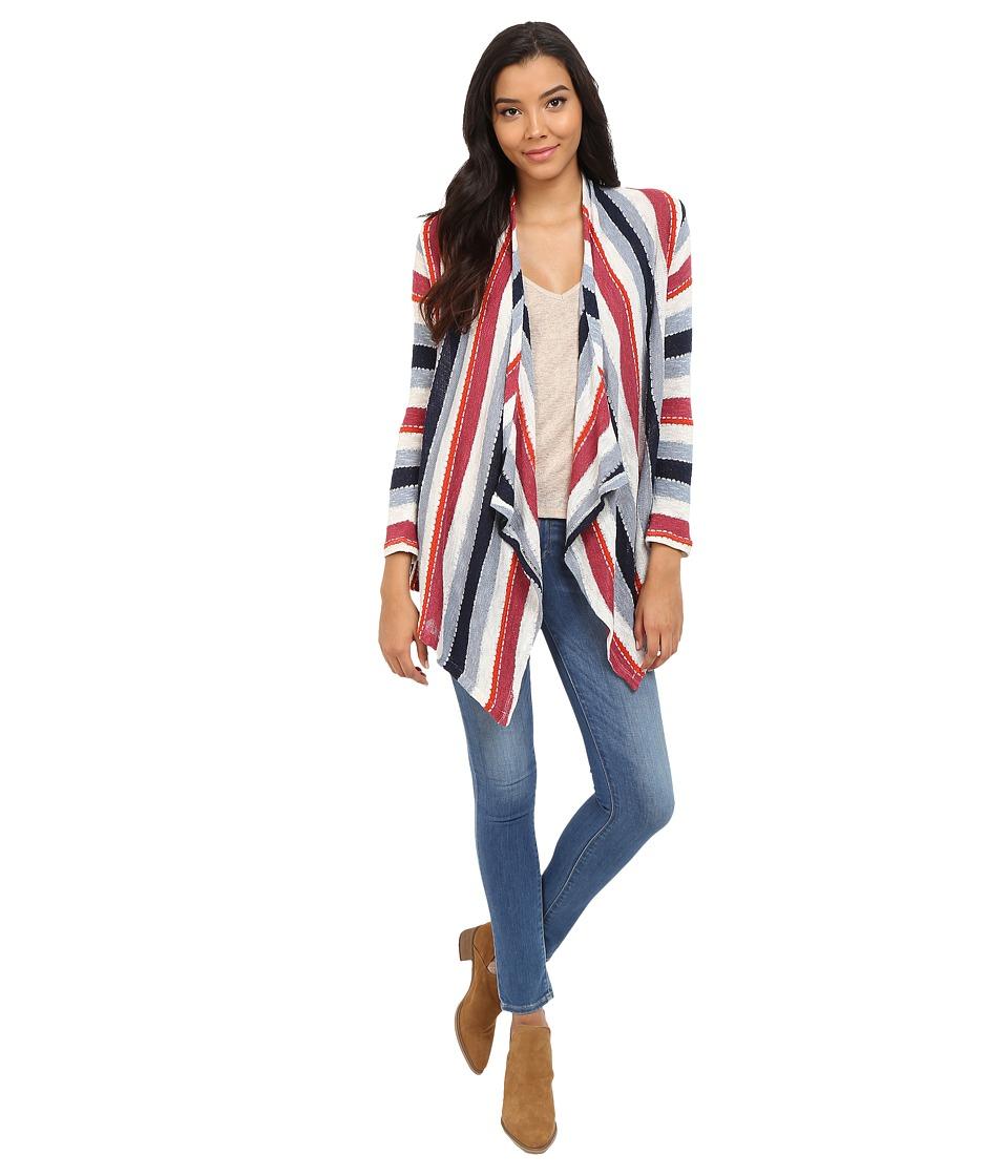 Splendid - Rancho Stripe Loose Knit (Multi) Women's Clothing