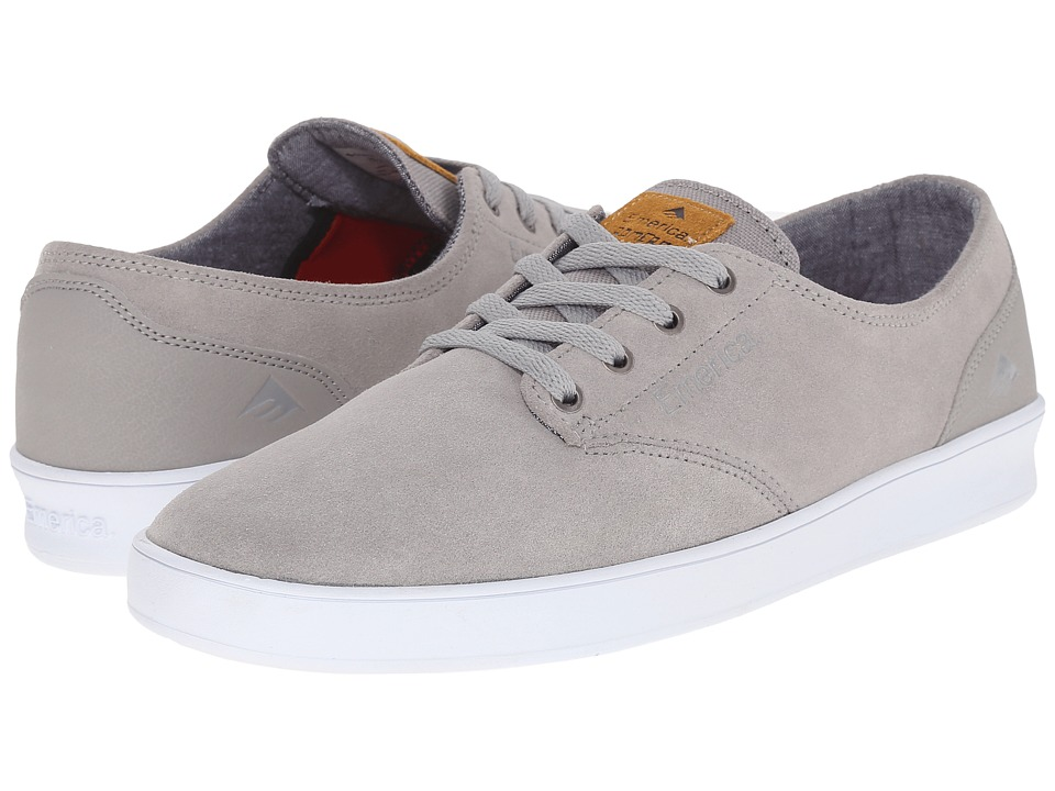 Emerica - The Romero Laced (Grey/White/Gum) Men's Skate Shoes