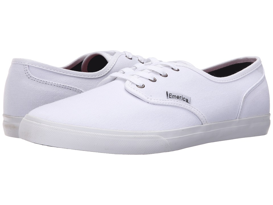 Emerica - Wino Cruiser (White) Men's Skate Shoes