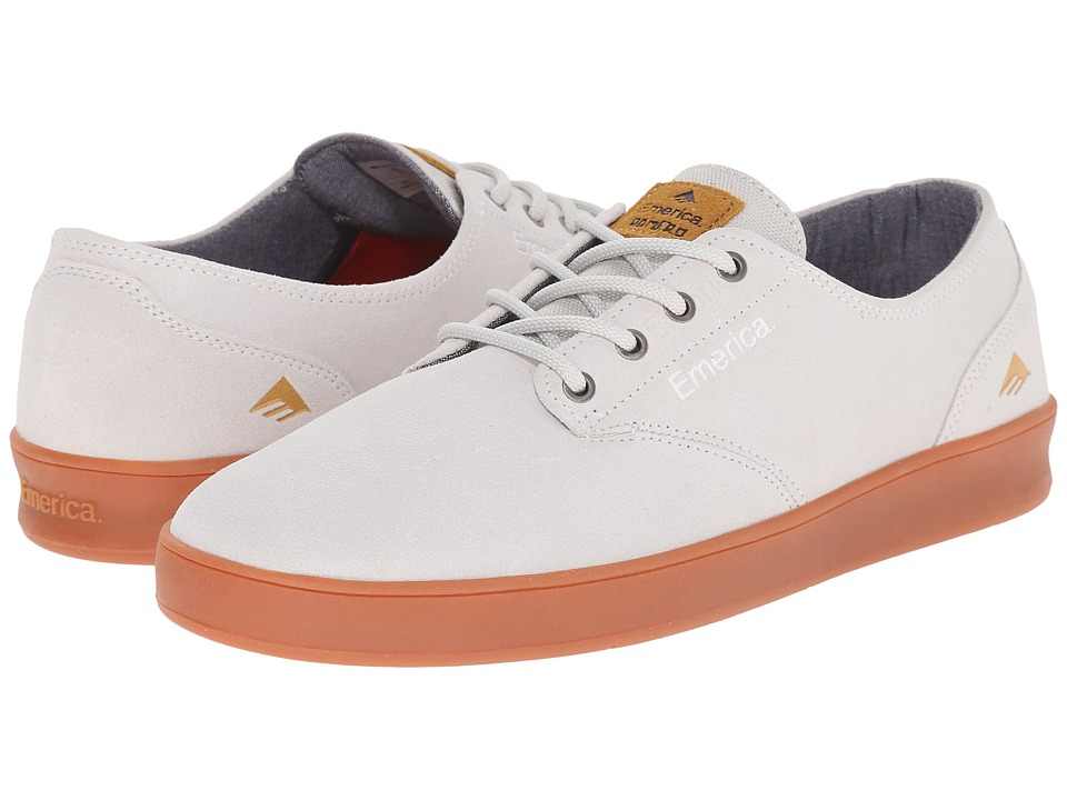 Emerica - The Romero Laced (White/Gum) Men's Skate Shoes