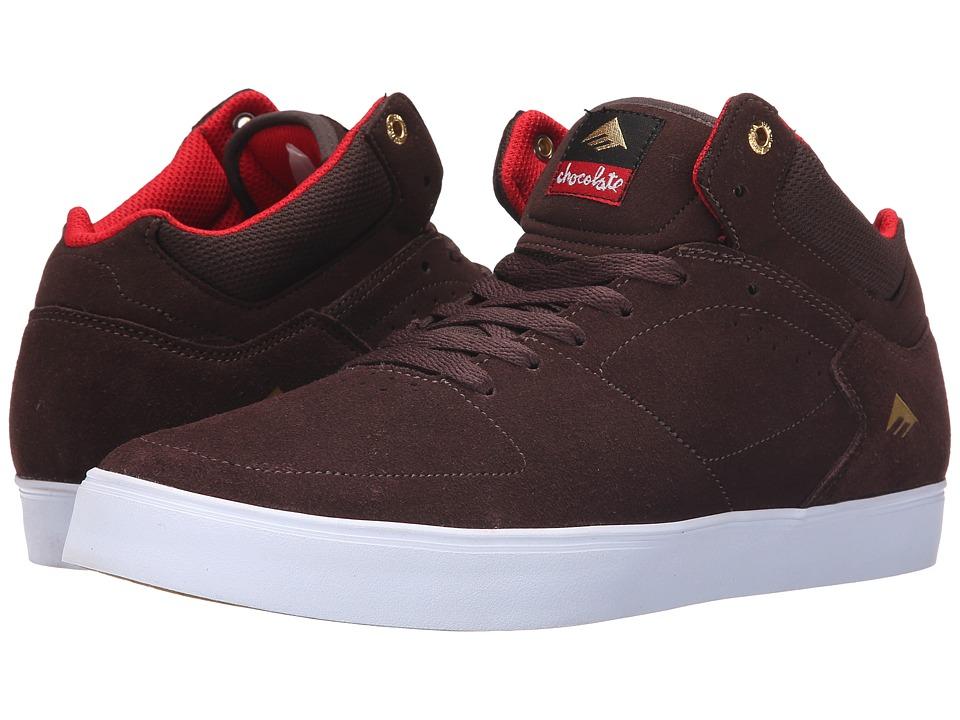 Emerica - The Hsu G6 X Chocolate (Brown/White) Men's Shoes