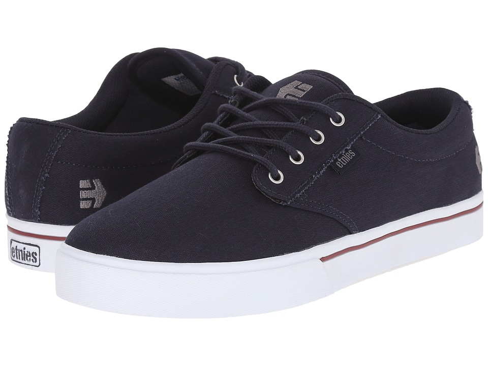 etnies - Jameson 2 Eco (Navy/White) Men's Skate Shoes