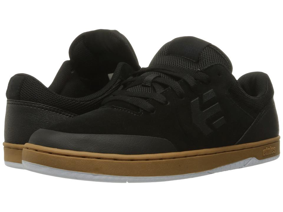 etnies - Marana (Black/Gum/White) Men's Skate Shoes