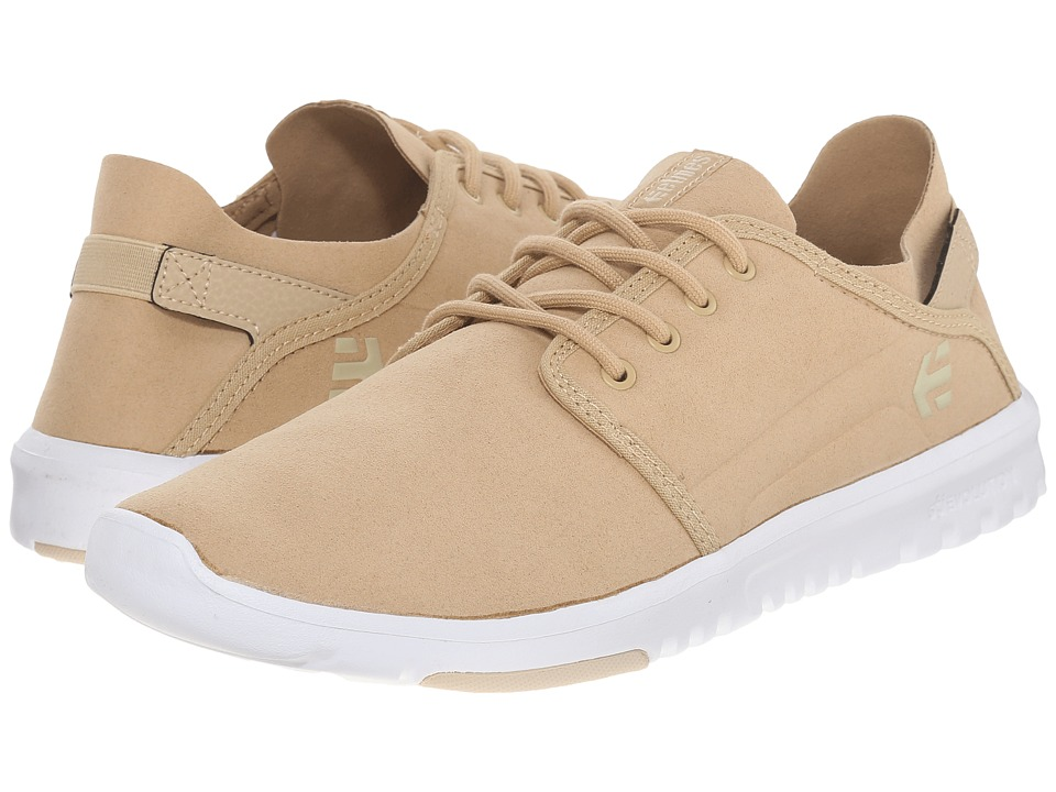 etnies - Scout (Taupe) Men's Skate Shoes