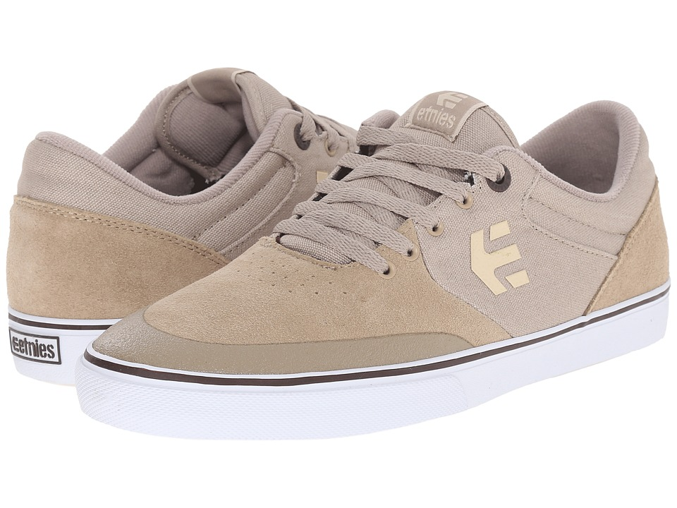 etnies - Marana Vulc (Taupe) Men's Skate Shoes