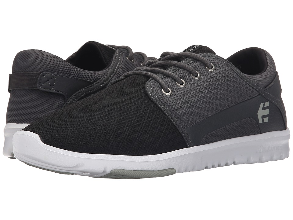 etnies - Scout (Black/Dark Grey/Silver) Men's Skate Shoes