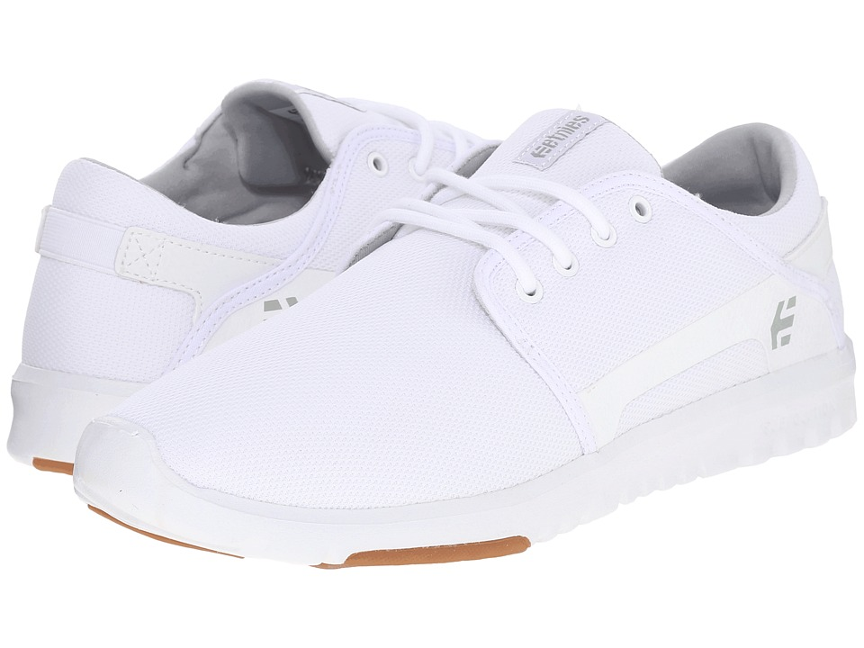etnies - Scout (White/Gum) Men's Skate Shoes