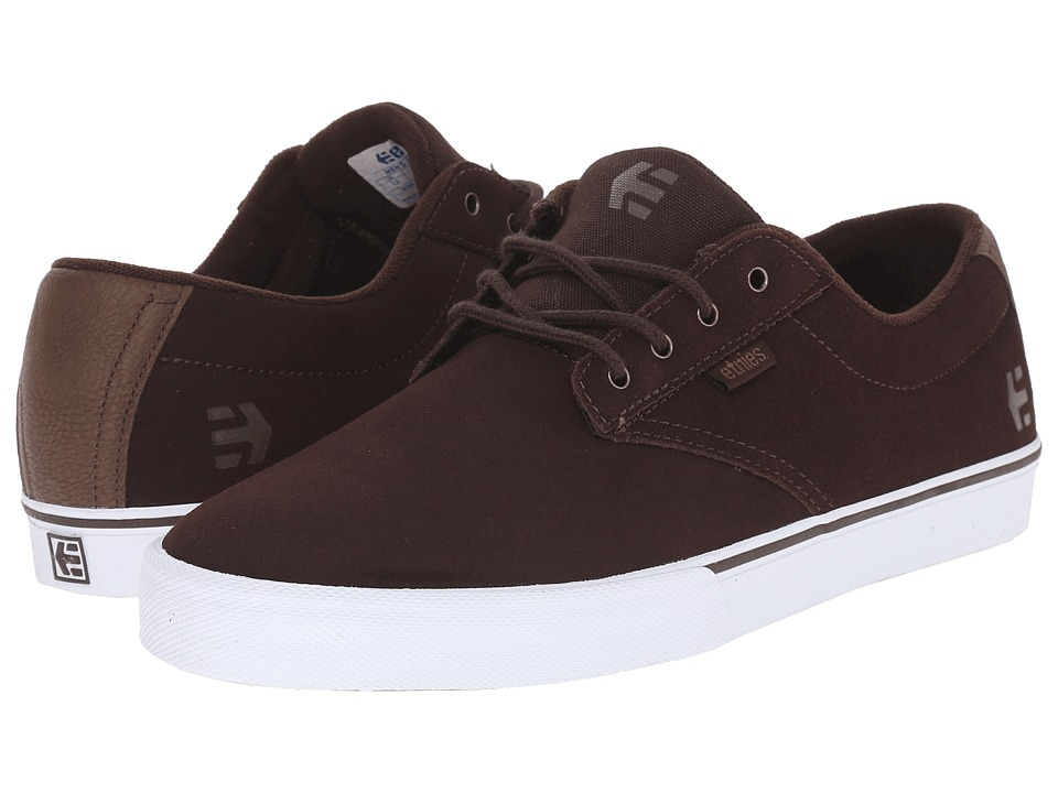 etnies - Jameson Vulc (Dark Brown) Men's Skate Shoes