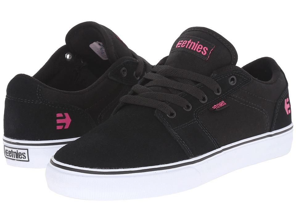 etnies Barge LS (Black/Pink) Women