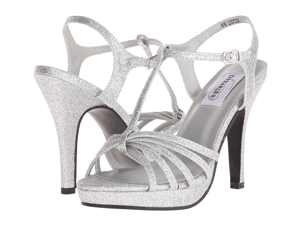Touch Ups - Kaylee (Silver Glitter) Women's Shoes