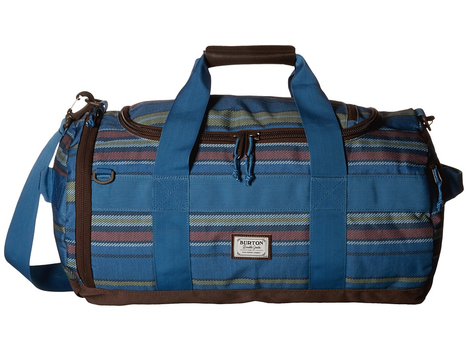 Burton - Backhill Duffel Bag Small 40L (Essex Stripe) Duffel Bags