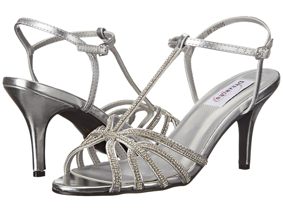 Touch Ups - Lexi (Silver Metallic) Women's Shoes