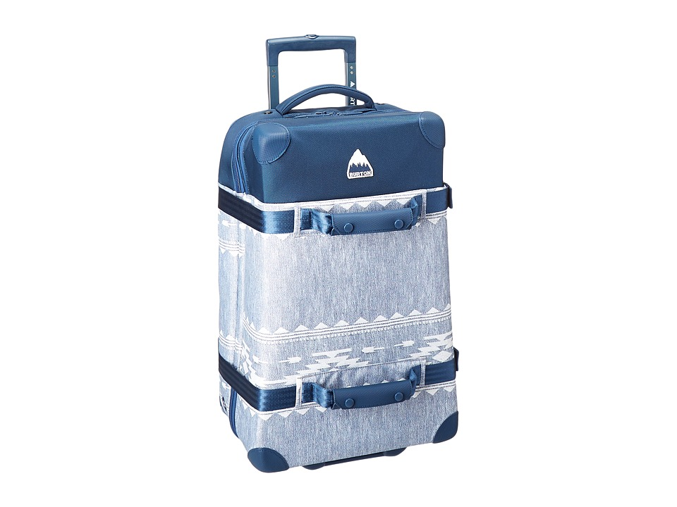 Burton - Wheelie Cargo (Famish Stripe) Luggage