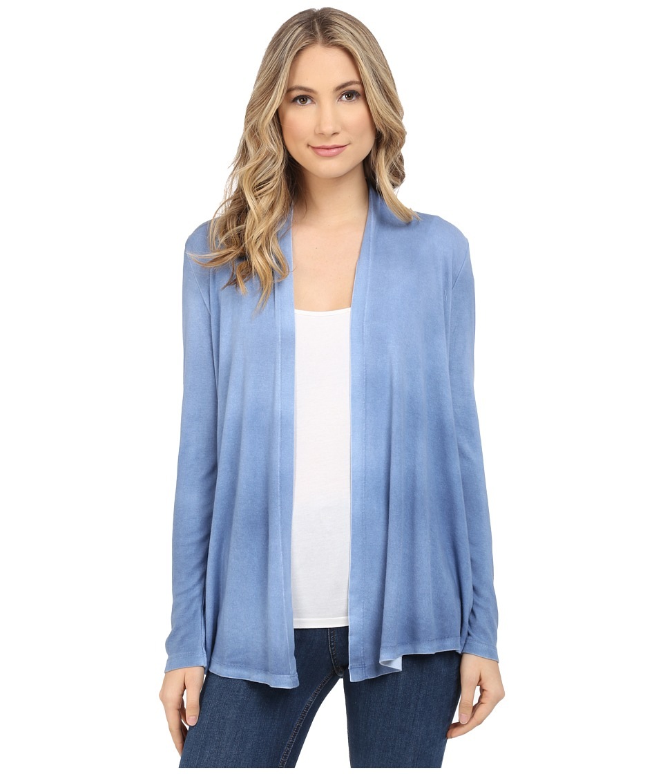 Splendid - 1X1 with Treatment Cardigan (Nautical Blue) Women's Sweater