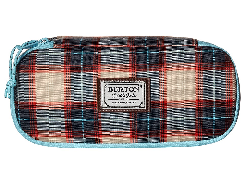 Burton - Switchback Accessory Case (Sunset Plaid) Wallet