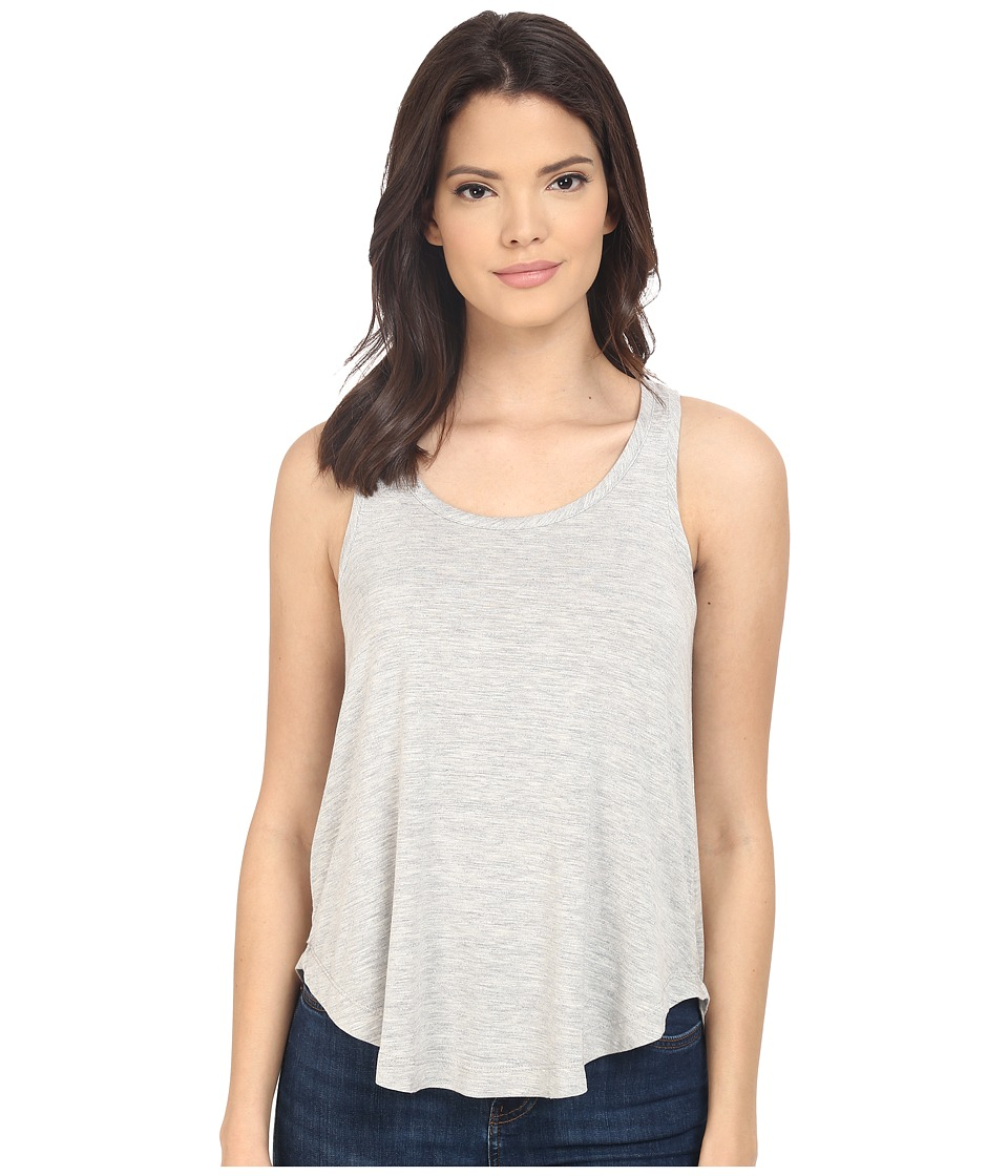 Splendid - Heathered Spandex Jersey Tank Top (Heather Grey) Women's Sleeveless