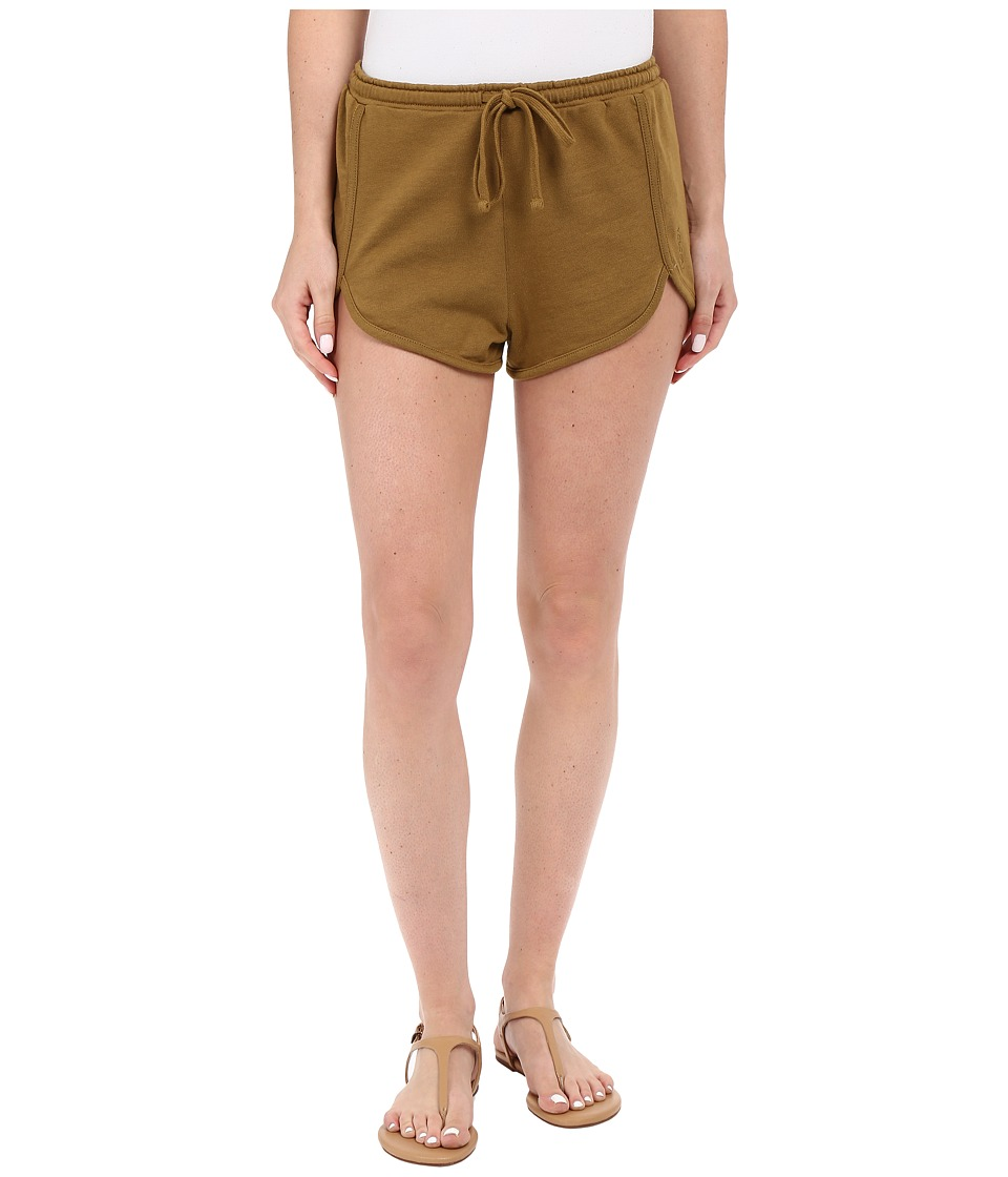 Volcom - Lived In Fleece Shorts (Army) Women's Shorts