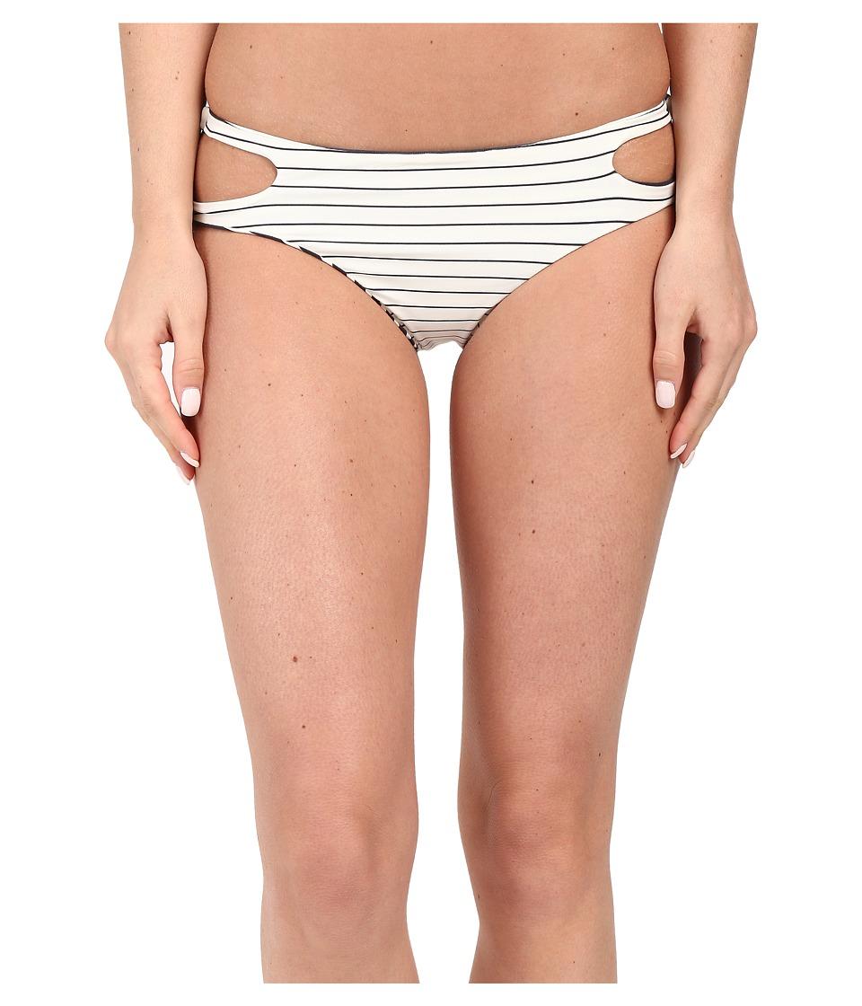 Billabong - Tan Lines Capri Bottom (Seashell) Women's Swimwear