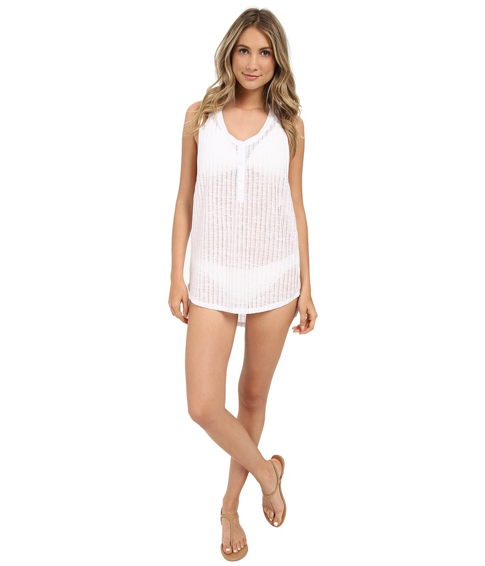 Billabong - Wild One Cover-Up (White) Women's Swimwear