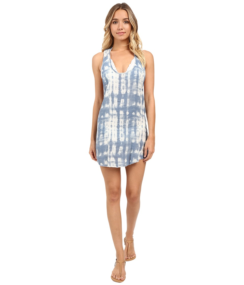 Billabong - Salty Sunset Dress Cover-Up (Tide Pool Tie-Dye) Women's Swimwear
