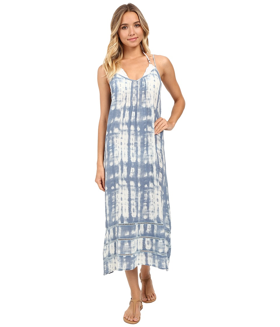 Billabong - Salty Sunset Maxi Dress Cover-Up (Tide Pool Tie-Dye) Women's Swimwear