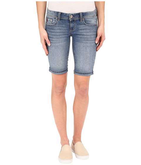 U.S. POLO ASSN. - Cass Bermuda Shorts (Blue) Women's Shorts