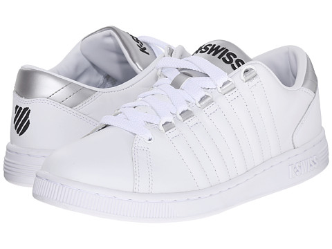 K-Swiss - Lozan III (White/Silver/Black) Women's Shoes