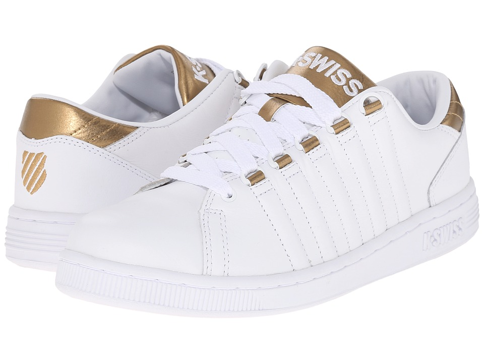 K-Swiss - Lozan III (White/Gold) Women's Shoes