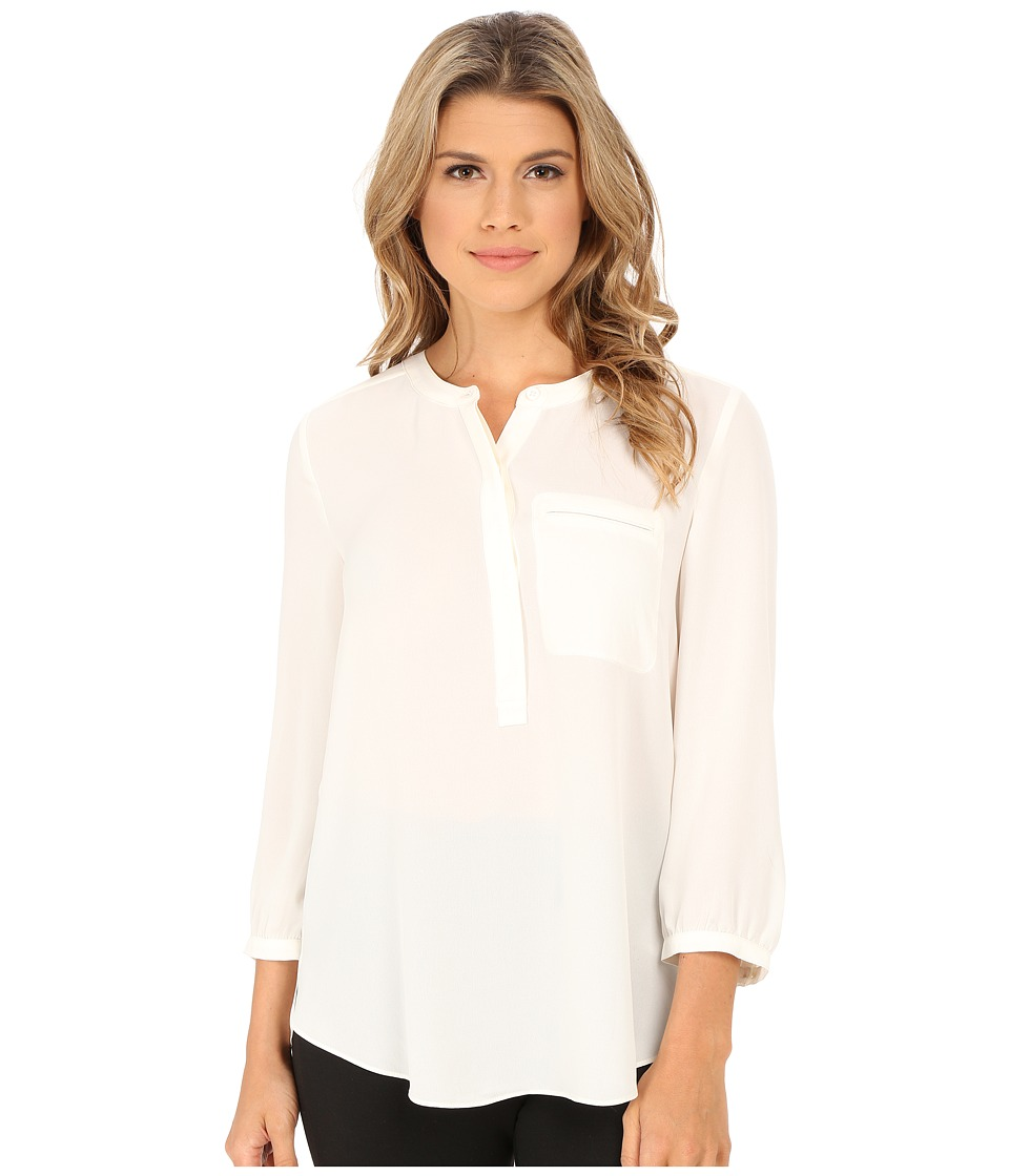 NYDJ - Georgette Blouse (Vanilla 2) Women's Blouse