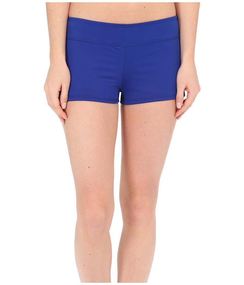 LAUREN Ralph Lauren - Laguna Solids Boyshorts (Ocean) Women's Swimwear