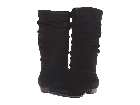 Dune London - Relissa (Black Suede) Women's Pull-on Boots
