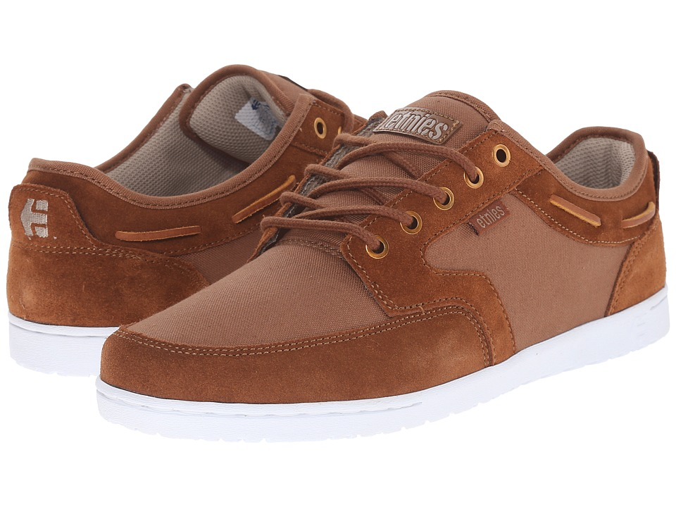 etnies - Dory (Brown/White) Men's Skate Shoes
