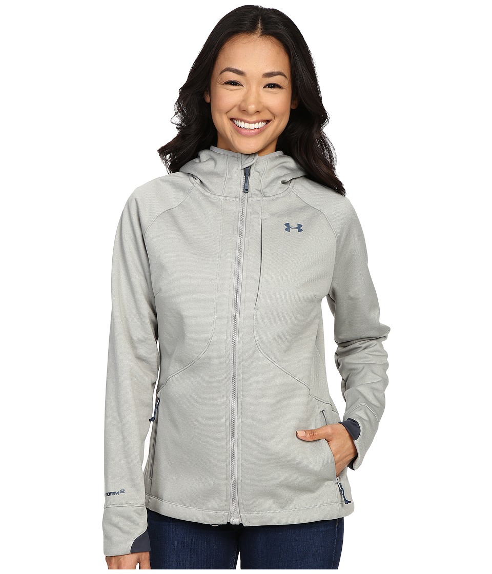 Under Armour - UA Bacca Softershell Jacket (Boulder) Women's Coat