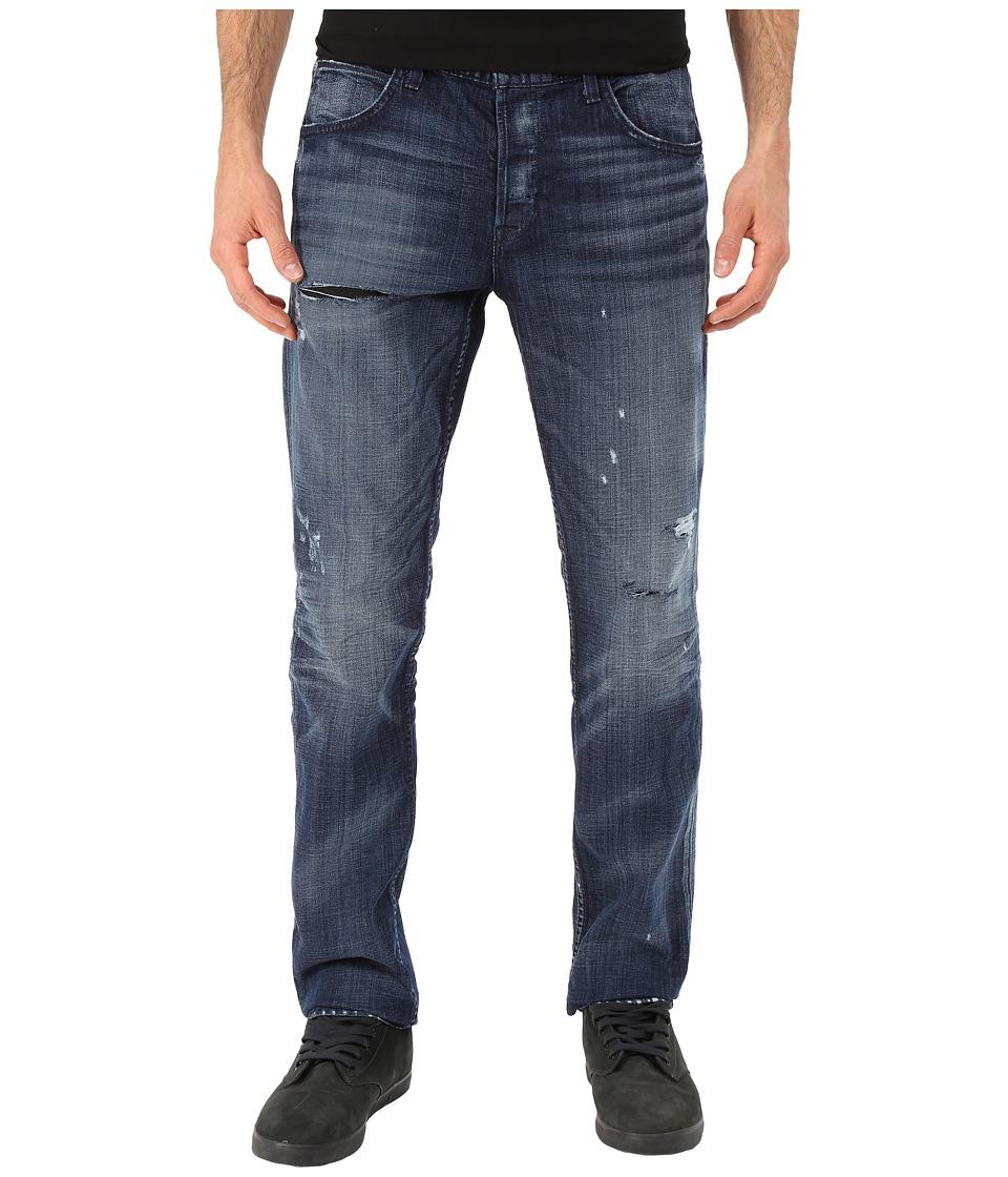 Hudson - Blake Slim Straight in Landslide w/ Rips (Landslide) Men's Jeans