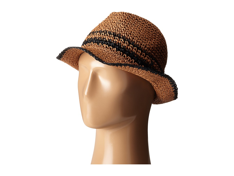 Volcom - Party Island Fedora (Vintage Brown) Fedora Hats
