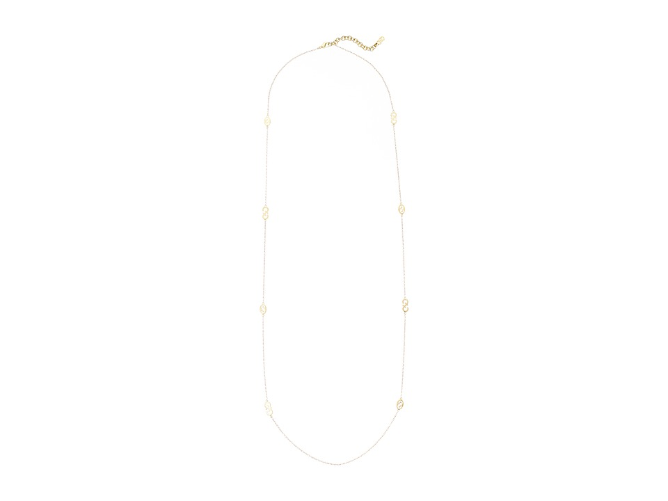 Cole Haan - 36 Logo Necklace (Gold) Necklace