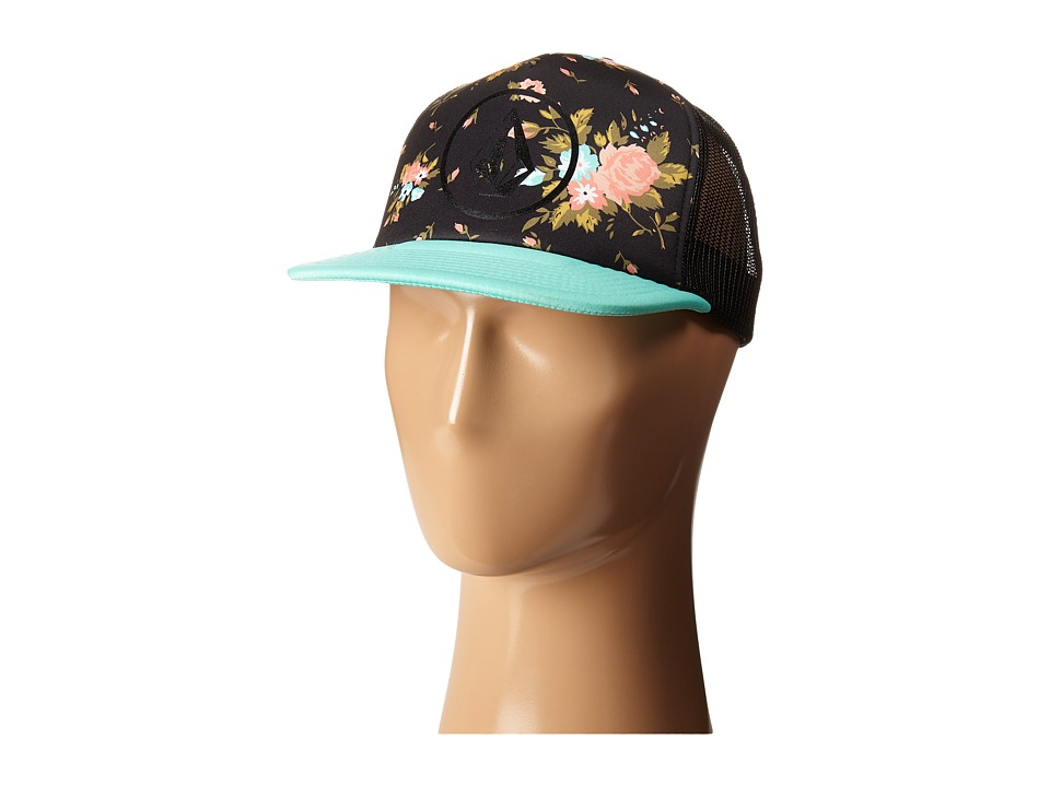 Volcom - Girl Talk Trucker Hat (Sea Swell Green) Caps