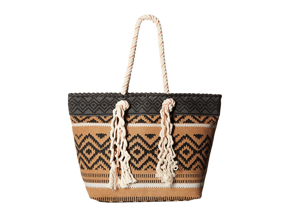 Volcom - Wild Bunch Tote (Vintage Brown) Tote Handbags