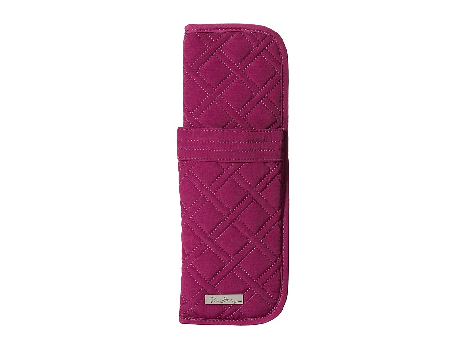 Vera Bradley - Curling Flat Iron Cover (Plum) Wallet