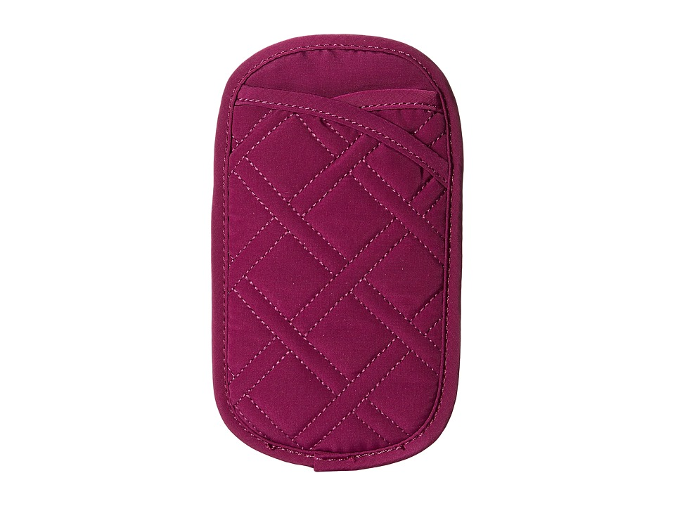 Vera Bradley - Double Eye Case (Plum) Wallet