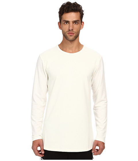 DBYD - Tape Long Sleeves T-Shirt (White) Men's T Shirt