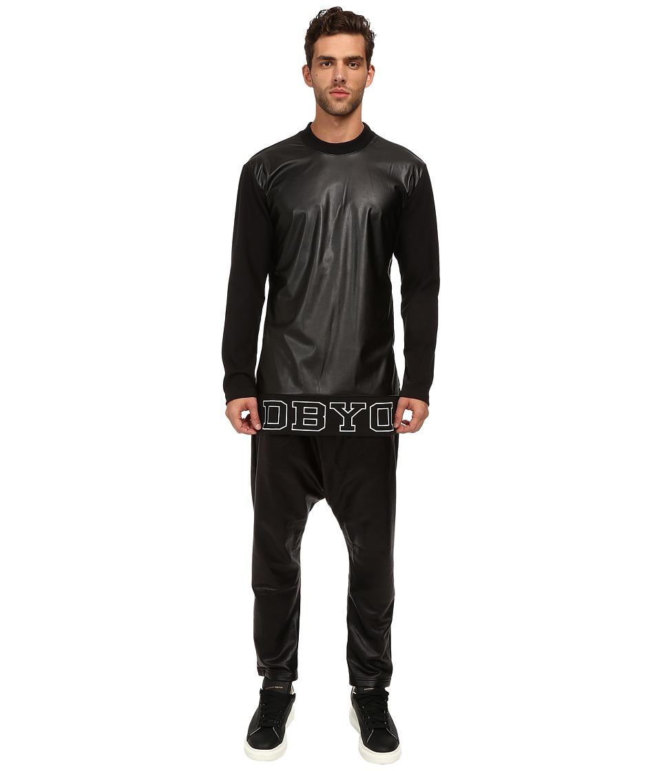 DBYD - Logo Long Sleeve T-Shirt (Black) Men's T Shirt