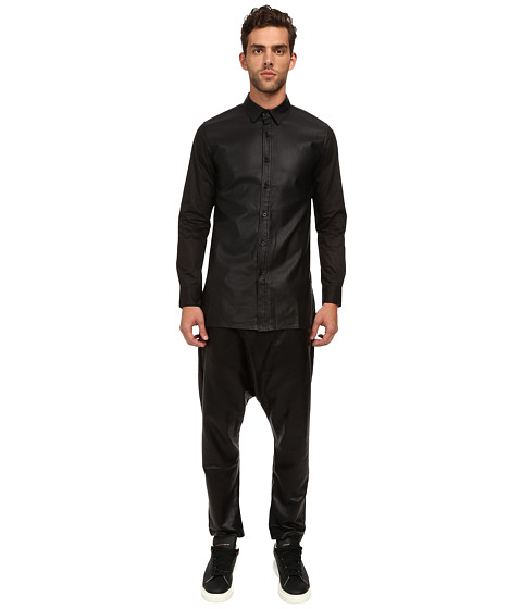 DBYD - Tape Patched Shirt (Black) Men