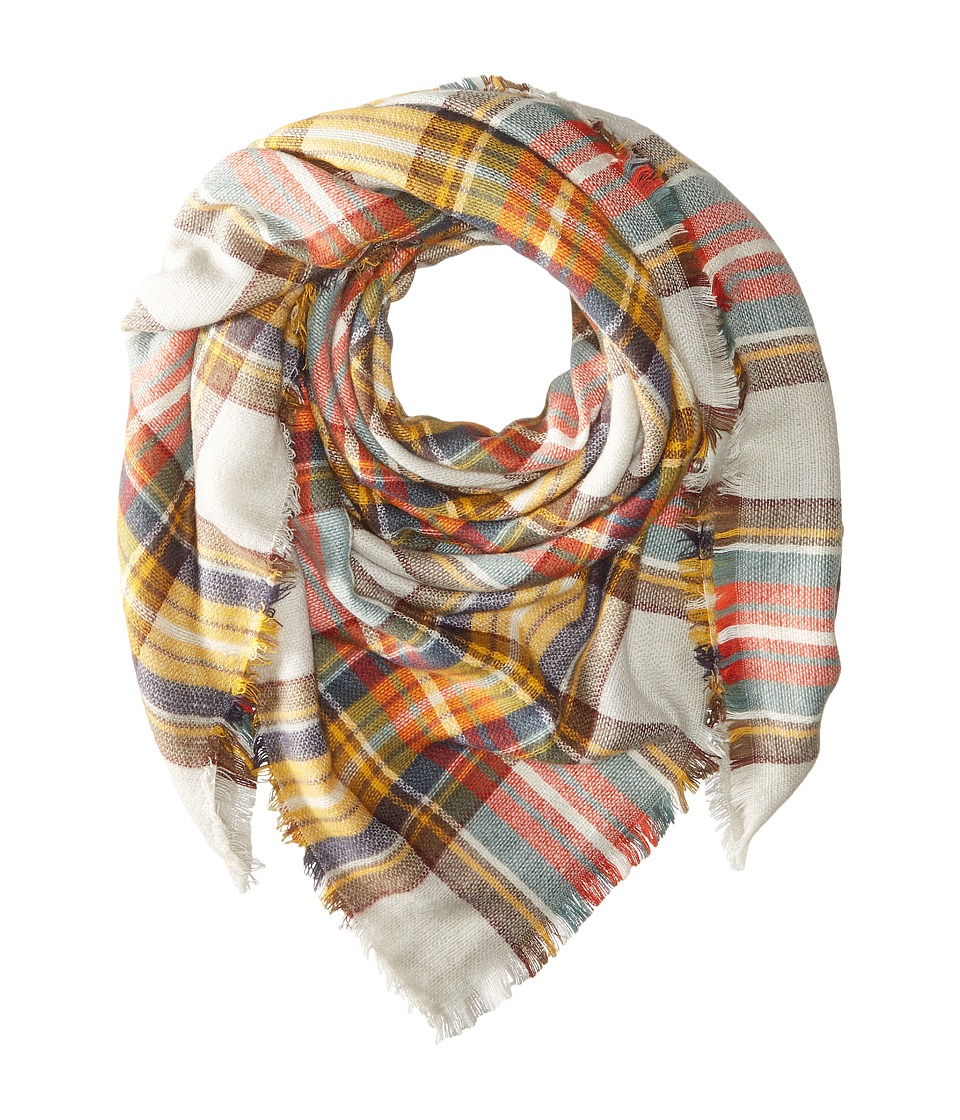 Hat Attack - Plaid Blanket Scarf (Autumn) Scarves