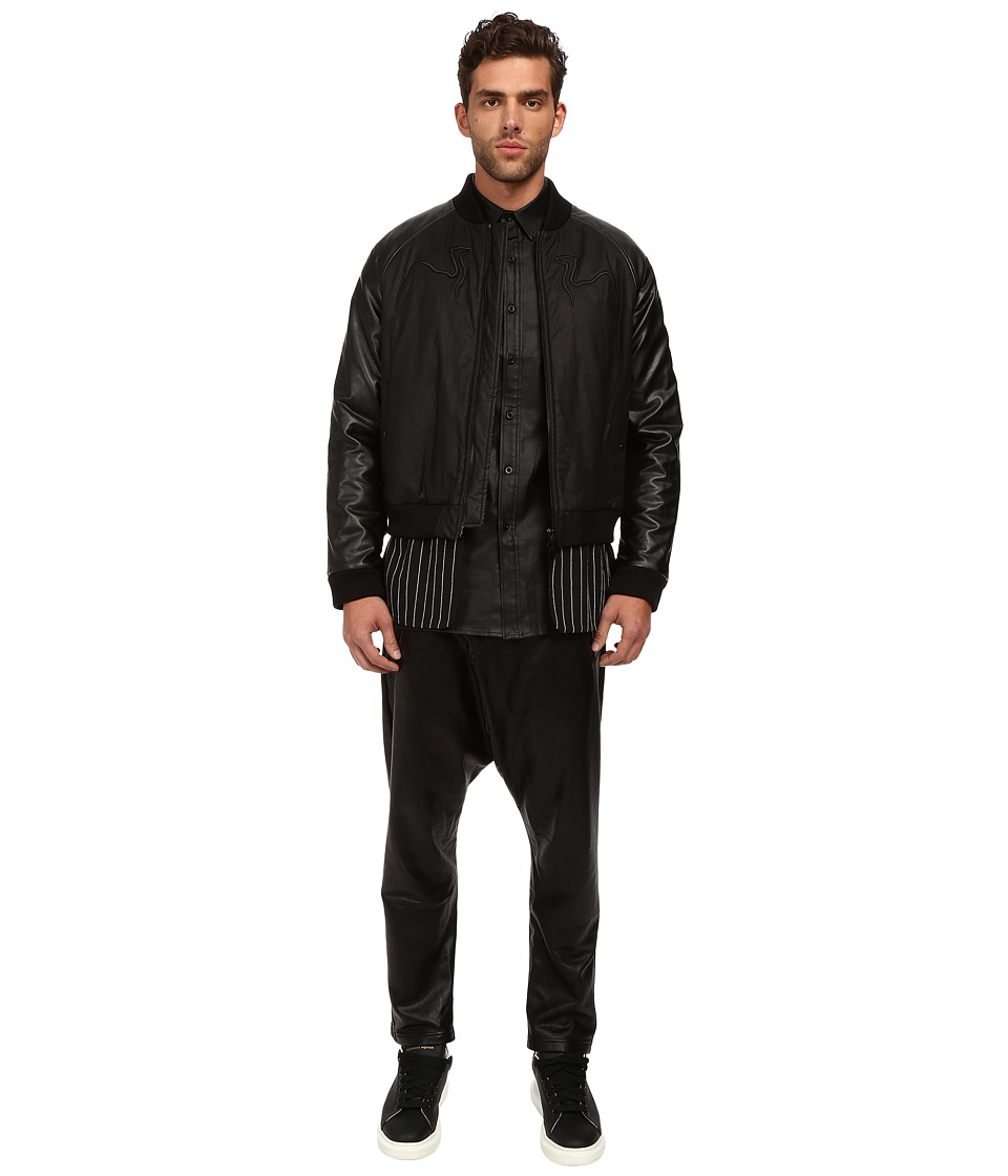 DBYD - Camel Embroidery Jacket (Black) Men's Coat