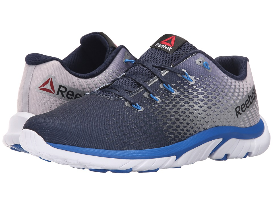 Reebok - ZStrike Elite (Collegiate Navy/Pure Silver/Blue Sport) Men's Running Shoes